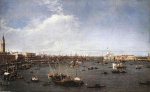 Giovanni Antonio Canal (Canaletto) - 班西诺圣马可(圣马克盆地)