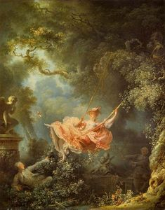 Jean-Honoré Fragonard - 秋千