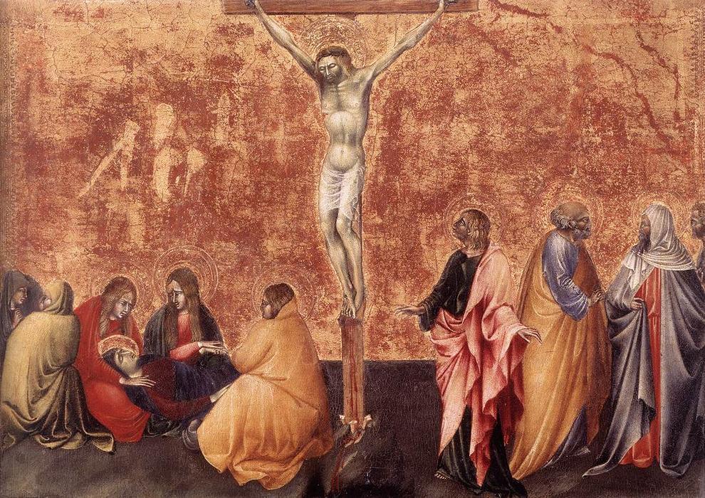 耶稣被钉十字架, 蛋彩画