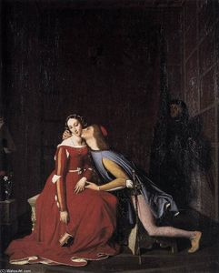 Jean Auguste Dominique Ingres - 保罗和弗朗西斯