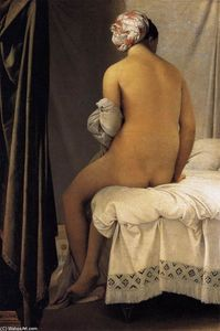 Jean Auguste Dominique Ingres -  的  沐浴者