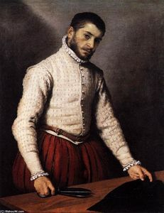 Giovanni Battista Moroni -  的 裁缝