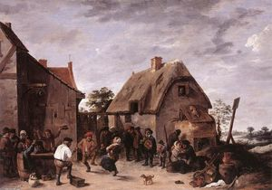 David The Younger Teniers - 佛兰芒语Kermess