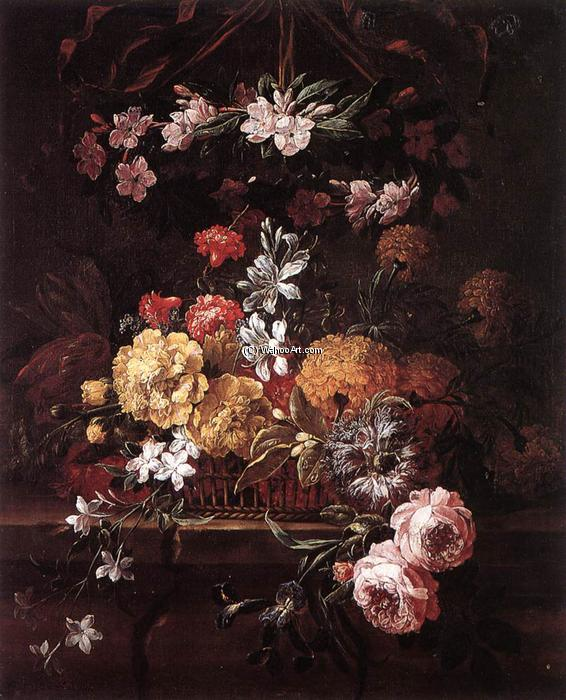 花片 通过 Gaspar Pieter The Younger Verbruggen (1664-1730, Belgium) | 幀打印 | WahooArt.com