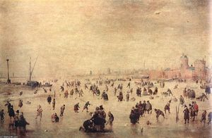 Hendrick Avercamp - 溜冰