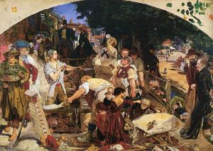 Ford Madox Brown -  工作