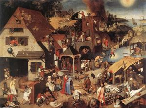 Pieter Bruegel The Younger - 尼德兰箴言