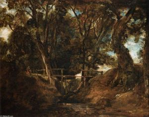 John Constable - Helmingham戴尔