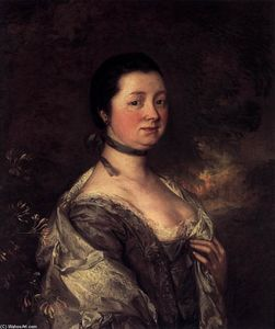 Thomas Gainsborough - 艺术家的妻子