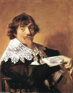 Frans Hals - Nicolaes Hasselaer