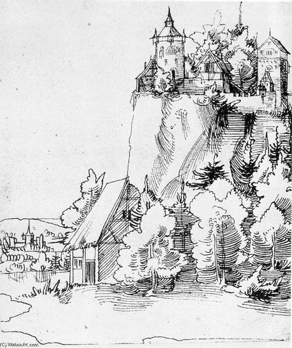 景观房子手绘线稿
