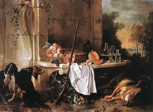 Jean-Baptiste Oudry -  死 狼