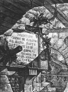 Giovanni Battista Piranesi - 卡瑟利D Invenzione
