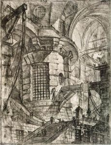 Giovanni Battista Piranesi - 圆塔