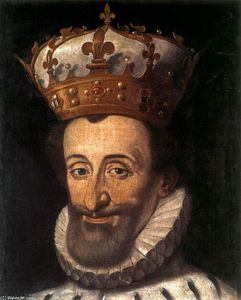 Santi Di Tito - 肖像 of Henry IV of France