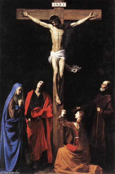 耶稣被钉十字架(2), 油画