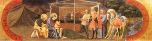 Paolo Uccello - 朝拜的贤士(Quarate predella)