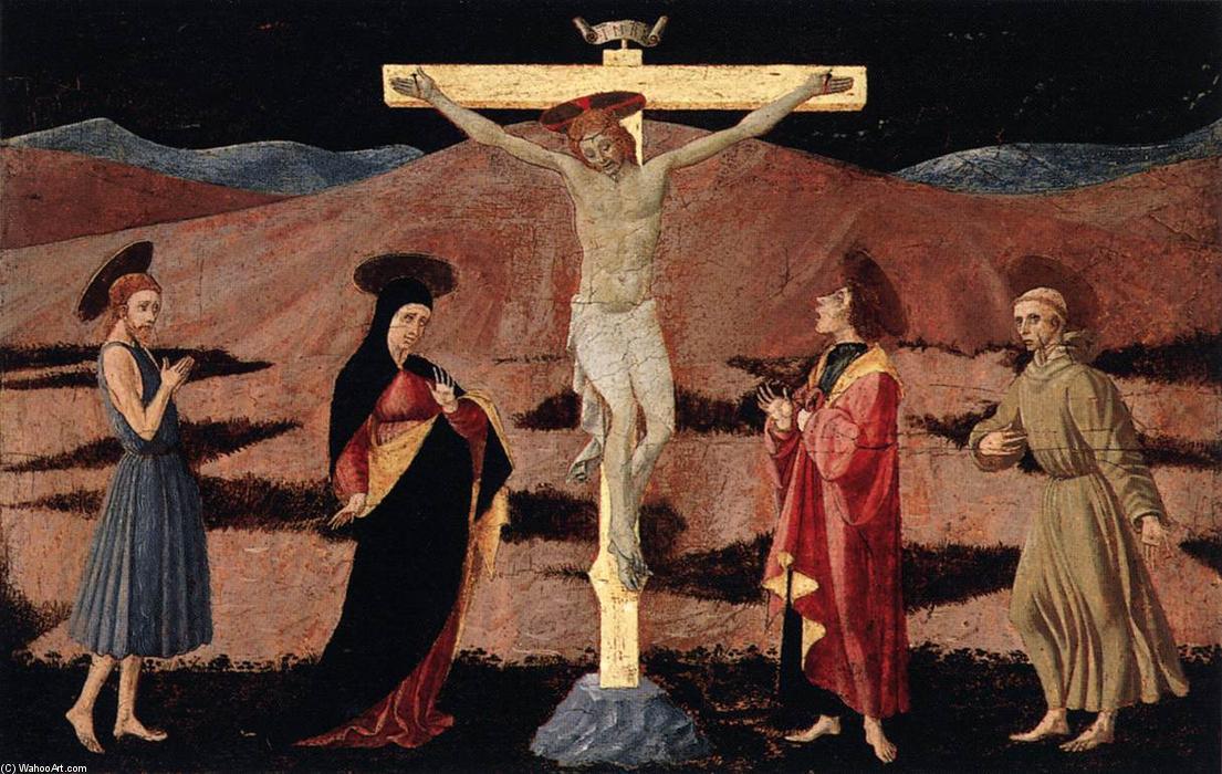 耶稣被钉十字架(2), 蛋彩画