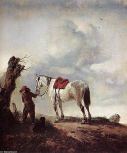 Philips Wouwerman - 灰色