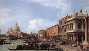 Giovanni Antonio Canal (Canaletto) - 莫洛的  寻找 西