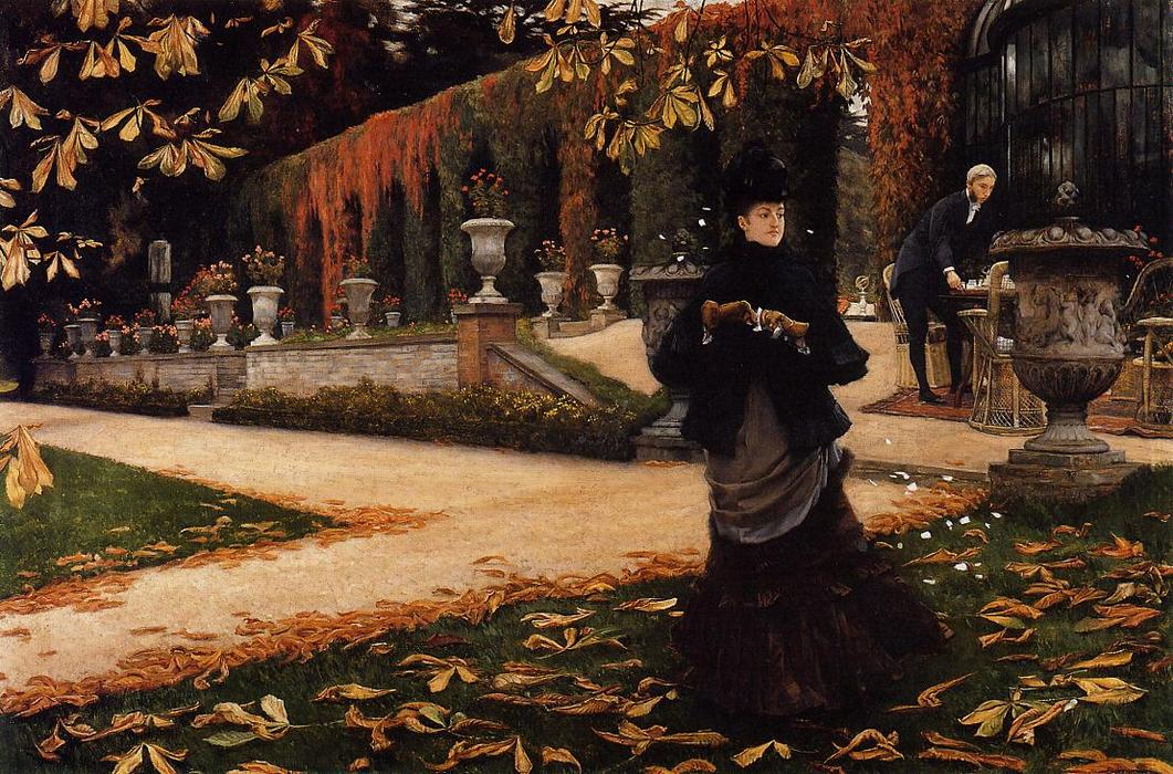 顺序 手工油畫 | 信, 1876 通过 James Jacques Joseph Tissot (1836-1902, France) | WahooArt.com