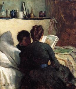 Jonathan Eastman Johnson - 小疗养