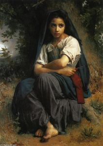 William Adolphe Bouguereau - 小尼特