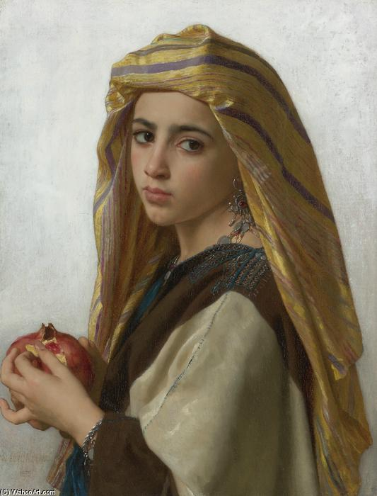 L 东方点菜手榴弹, 1875 通过 William Adolphe Bouguereau (1825-1905, France) | 幀打印 | WahooArt.com