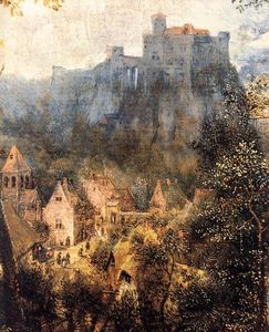 Pieter Bruegel The Elder - 喜鹊在Gallow(详细)