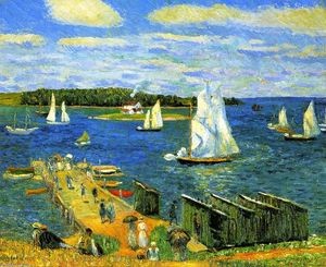 William James Glackens - 马宏湾