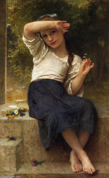 玛格丽特, 1903 通过 William Adolphe Bouguereau (1825-1905, France) | 幀畫冊專輯 | WahooArt.com