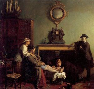 William Newenham Montague Orpen - 一个单纯的骨折