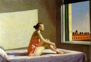 Edward Hopper -  上午  阳光