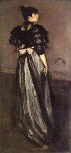 James Abbott Mcneill Whistler - 母亲 of Pearl 银 : 该andalsiian