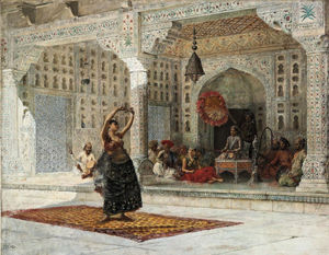 Edwin Lord Weeks - 该Nautch