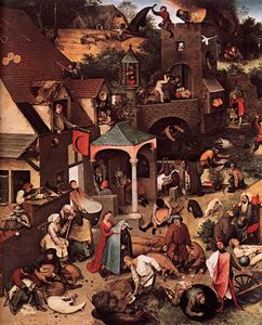 Pieter Bruegel The Elder - 尼德兰箴言(详细)