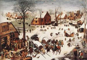 Pieter Bruegel The Elder - 编号 在  伯利恒
