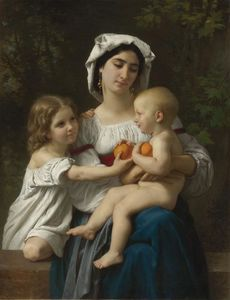 William Adolphe Bouguereau - 橙子