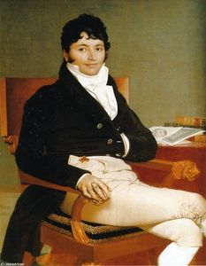 Jean Auguste Dominique Ingres - Philbert里维埃