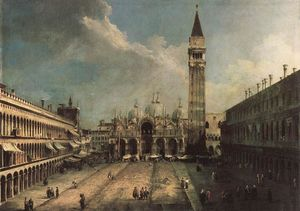 Giovanni Antonio Canal (Canaletto) - 圣马可广场
