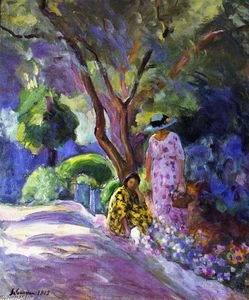 Henri Lebasque - 摘花