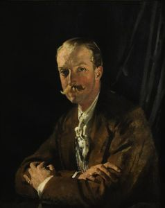 William Newenham Montague Orpen - 杰弗里肖像,Headfort第四侯爵