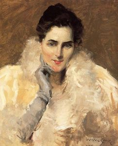 William Merritt Chase - 仕女图