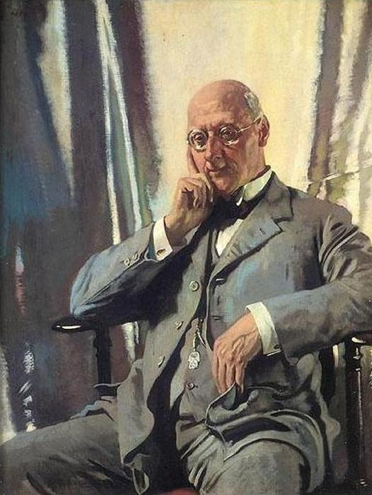 肖像 先生 弗朗西斯 亨利 爱德华 Livesay 通过 William Newenham Montague Orpen (1878-1931, Ireland)