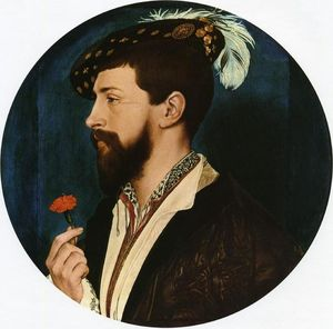 Hans Holbein The Younger - 肖像 西蒙 乔治 的 Quocote