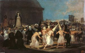 Francisco De Goya - Flagellants游行