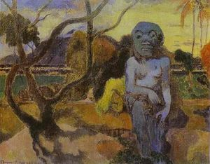 Paul Gauguin - RAVE TE htit aamy(也称为偶像)