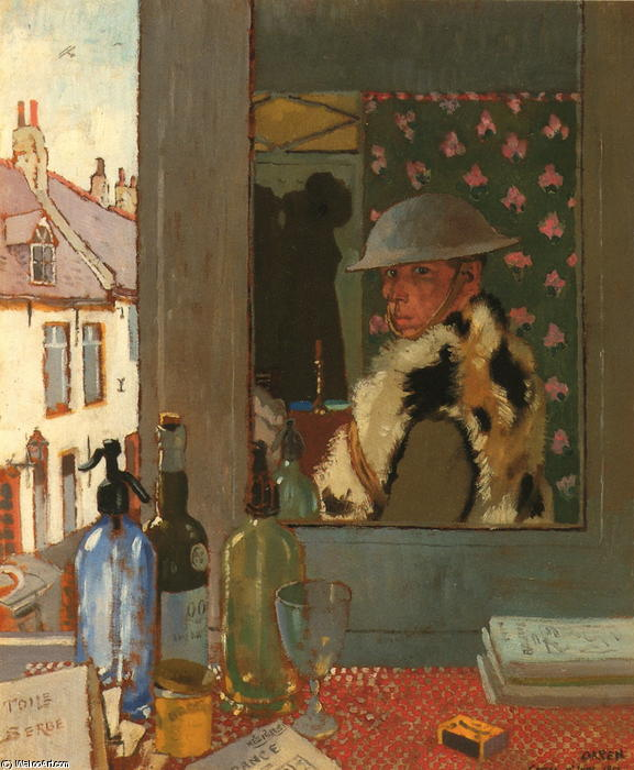 准备开始, 1917 通过 William Newenham Montague Orpen (1878-1931, Ireland) | 手工畫 | WahooArt.com