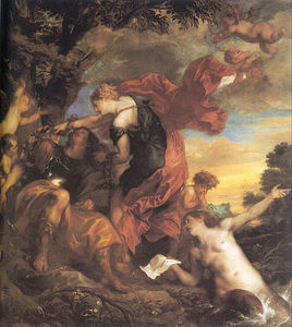 Anthony Van Dyck - 里纳尔多和Armida