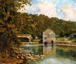 Paul Sawyier - Rivermill